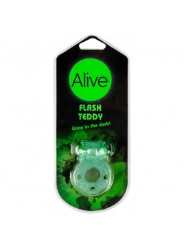 Anneau vibrant phosphorescent Flash Teddy
