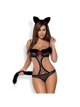 Tenue chatte taille - S-M